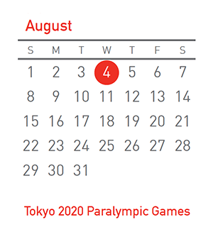 Tokyo 2020 Paralympic Games, 4 August