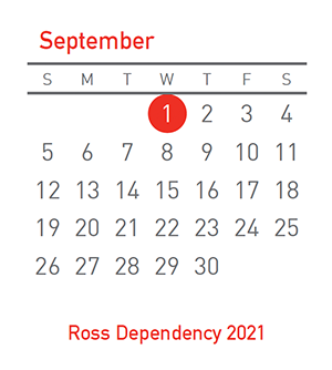 Ross Dependency, 1 September 2021