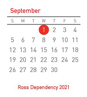 Ross Dependency, 1 September 2021