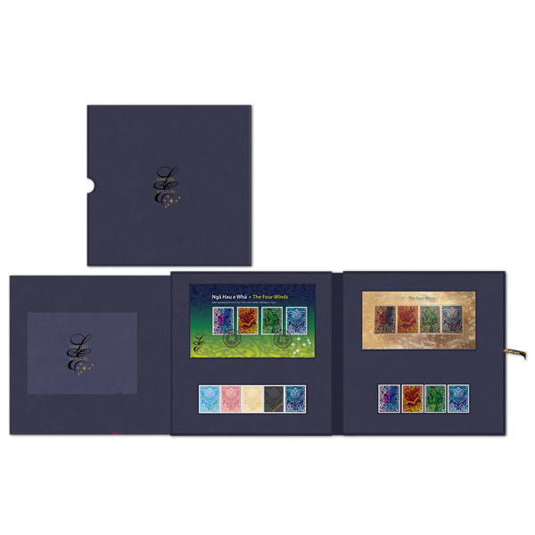 Ngā Hau e Whā - The Four Winds limited edition pack | NZ Post Collectables