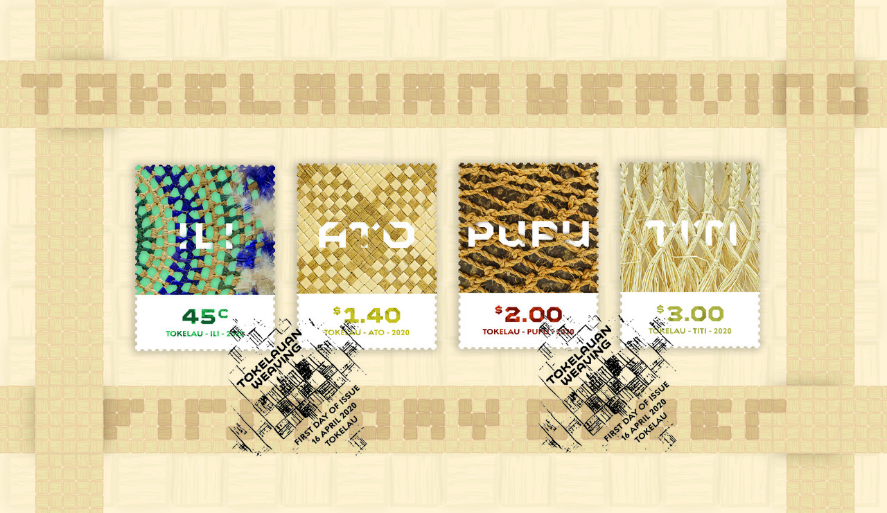 Tokelau Weaving 2020 first day cover   NZ Post Collectables