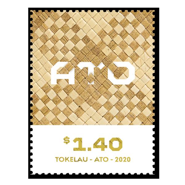 Tokelau Weaving 2020 single $1.40 gummed stamp   NZ Post Collectables