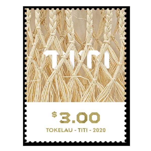 Tokelau Weaving 2020 single $3.00 gummed stamp   NZ Post Collectables