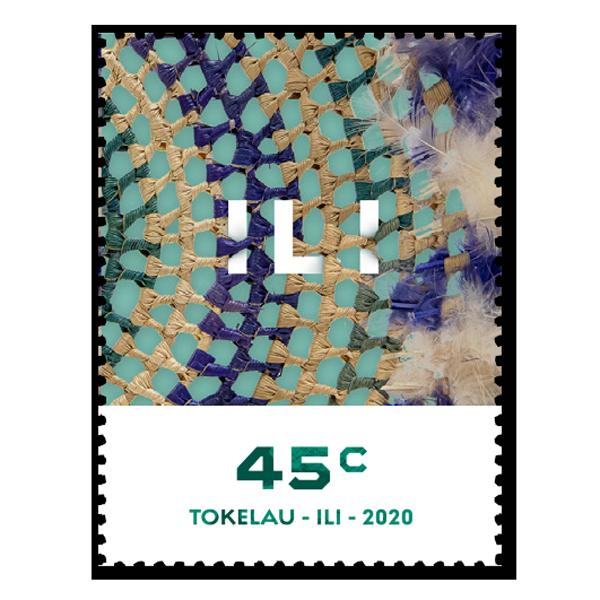 Tokelau Weaving 2020 single 45c gummed stamp   NZ Post Collectables