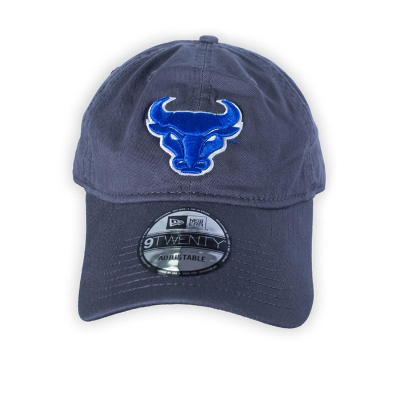New Grey Bulls Cap - Campus Tees 92a6cf08599