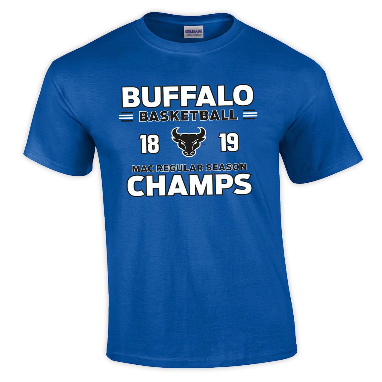 ae6e80d6bbdc UB MAC Basketball Champs T-shirt - Campus Tees