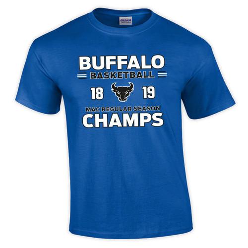 a2aaae2294e8 UB MAC Basketball Champs T-shirt - Campus Tees