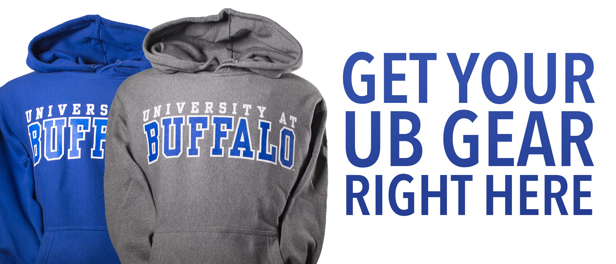 Get your UB gear right here.