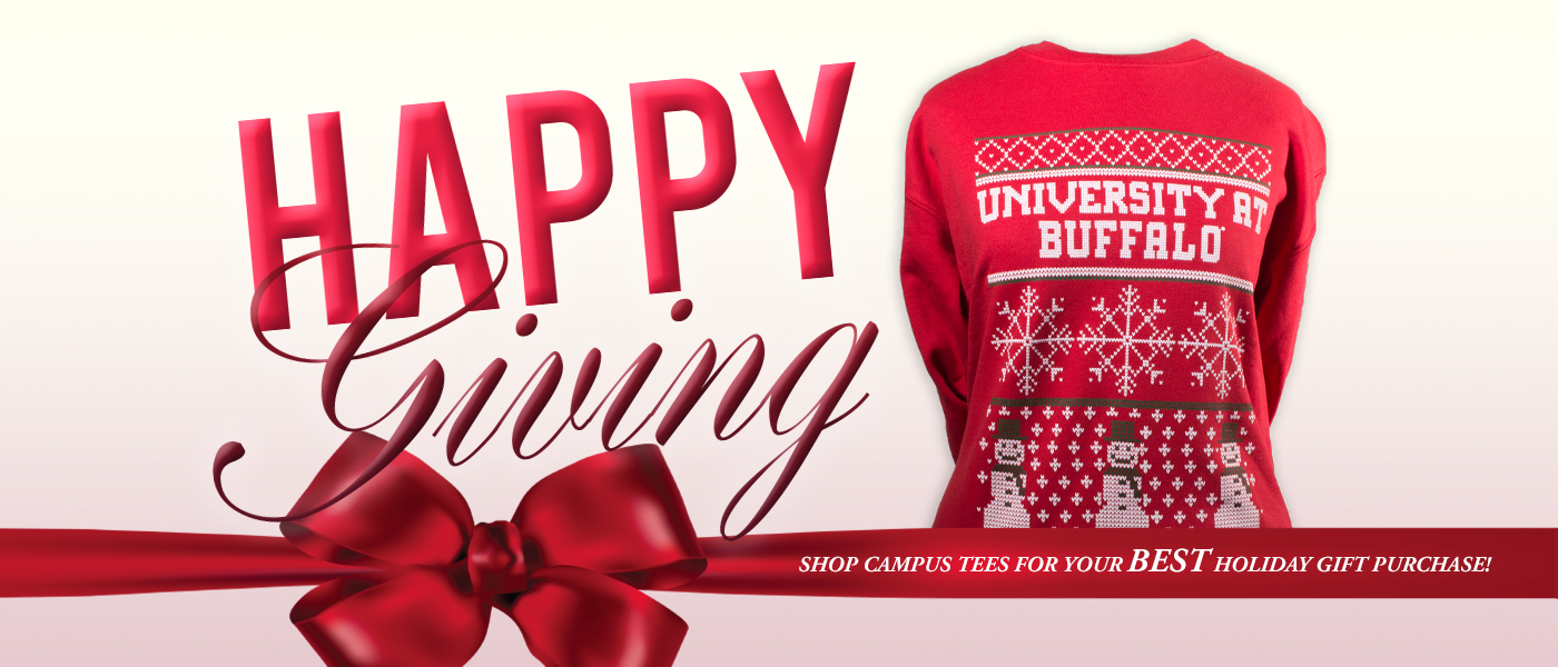 Happy Giving! Shop Campus Tees for your best holiday gift purchase!