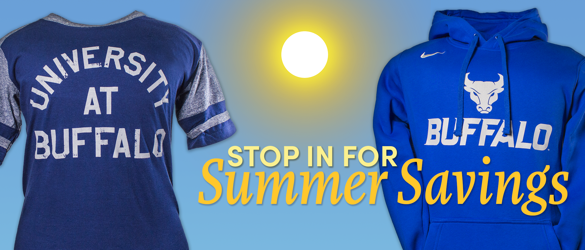 Stop in for summer savings.