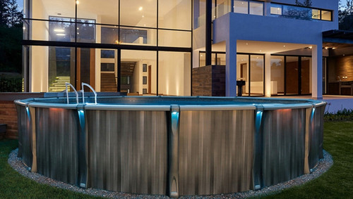 Trevi 211 Above Ground Swimming Pool Package