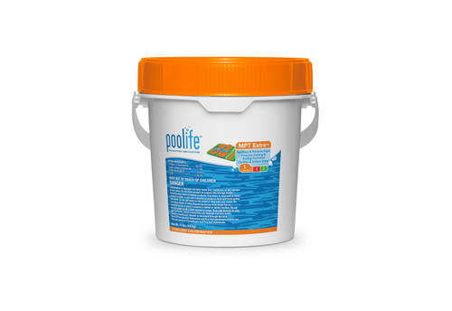 POOLIFE MPT Extra Chlorine Tablets - 11 lb.