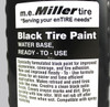 1 Quart Black Tire Paint