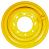 16.5x9.75 New Holland Wheel with TR501 Valve,  Fits 12-16.5 Tire