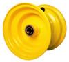 "6x4-1/2 Yellow Wheel with 3/4"" Bearings"