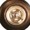 18x8.50-8 Hartford 3-Rib Front Tractor Tire & Aluminum Wheel