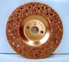 """7"""" To-Air Tire Grinding Disc 16 Grit"""