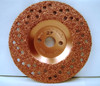 """7"""" To-Air Tire Grinding Disc 24 Grit"""