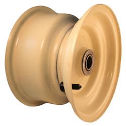 """8x5-3/8 Steel Wheel, 3"""" hub, 1"""" Bearing"""