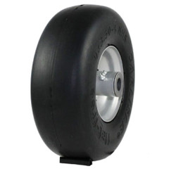9x3.50-4 Carlisle Smooth Flat Free Tire & Wheel