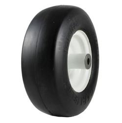 11x4.00-5 Carlisle Smooth Flat Free Tire & Wheel