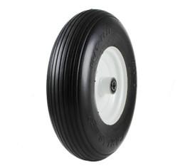4.00-6 Carlisle Rib Flat Free Tire & Wheel