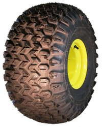 25x13-9 Carlisle HD Field Trax on JD Wheel