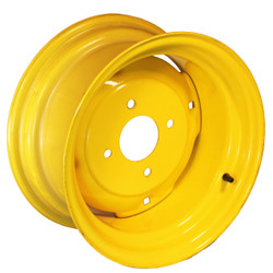 14x 7  4-Hole Wheel JD Yellow