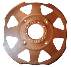 "38"" Rim Center Disc 9 Hole with Cut-Outs"