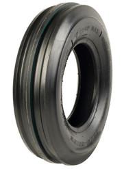 6.00-16 Malhotra 3-Rib Front Tractor Tire 6 Ply