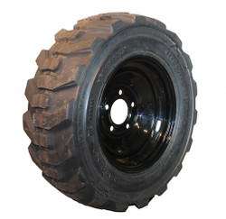 23x8.50-12 Bobcat Loader Compact Tractor Tire Mounted on Wheel
