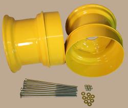 16.5x9.75 John Deere Dual Wheel Kit,  Fits 12-16.5 Tire