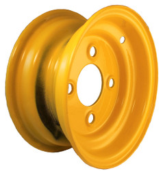 8x3.75  4-Hole Yellow Trailer Wheel