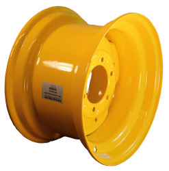 16.5x9.75  6 Bolt John Deere Wheel with TR501 Valve,  Fits 12-16.5 Tire