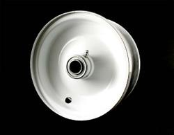 """6x2.5 Steel Wheel, 3"""" Hub, 3/4"""" Bearing"""