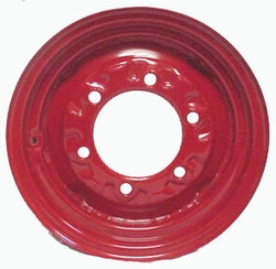 12x 4 6-Hole Wheel Red