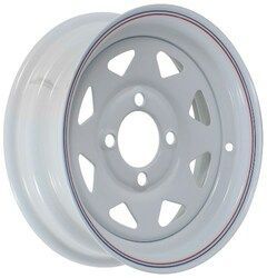 12x4  4-Hole Trailer Wheel