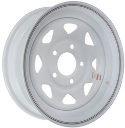 14x5.5  5-Hole Trailer Wheel