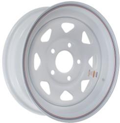 "15x6  5-Hole 5"" Bolt Circle Trailer Wheel"