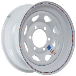 16x6 6-Hole Trailer Wheel