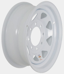 16x6 8-Hole Trailer Wheel