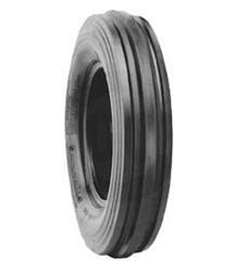 6.00-12 Firestone 3-Rib Front Tractor Tire 6 ply