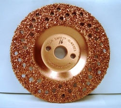 "7"" To-Air Tire Grinding Disc 16 Grit"