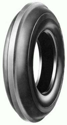 7.50-16 American Farmer 1-Rib Front Tractor Tire 6 Ply