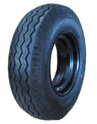 7-14.5 Deestone Trailer Tire 8 Ply & Rim
