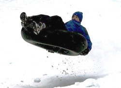 "42"" Medium Snow Tube 10.00-20 TR-15 Tire"