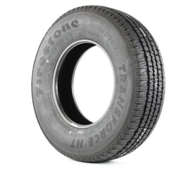 8.75R16.5 Firestone Transforce HT Trailer Tire 10 Ply
