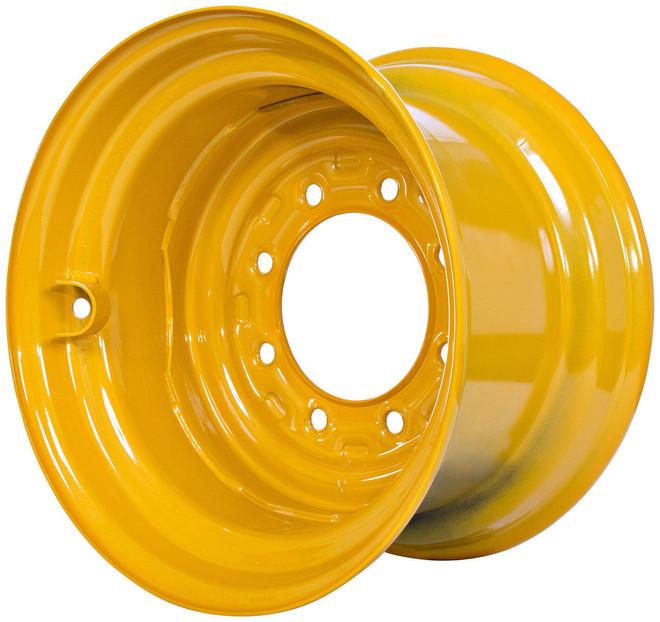 16.5x9.75 Case 75XT 85XT 90XT  Wheel with TR501 Valve,  Fits 12-16.5 Tire