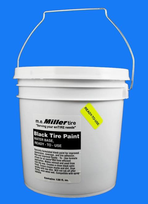 1 Gallon Black Tire Paint