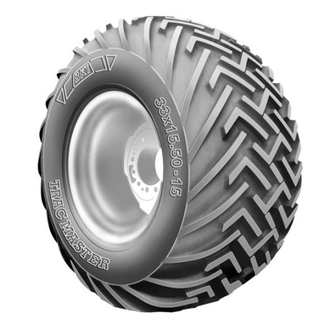 33x15.50-15 BKT Tracmaster Compact Tractor Tire 8 Ply